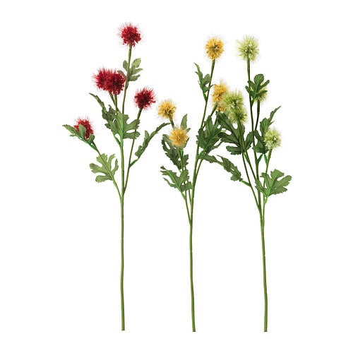 Smycka fleur artificielle ikea for Plante artificielle ikea