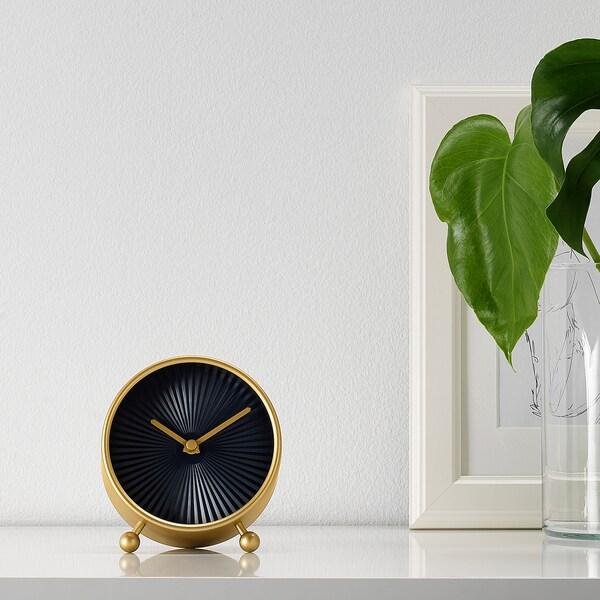 SNOFSA horloge de table couleur laiton 5.5 cm 11 cm 12 cm