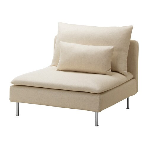s derhamn housse chauffeuse 1 place isefall cru ikea. Black Bedroom Furniture Sets. Home Design Ideas