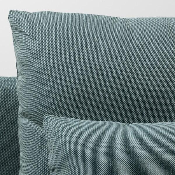 SÖDERHAMN canapé 3 places sans accoudoir/Finnsta turquoise 83 cm 69 cm 192 cm 99 cm 14 cm 6 cm 70 cm 39 cm