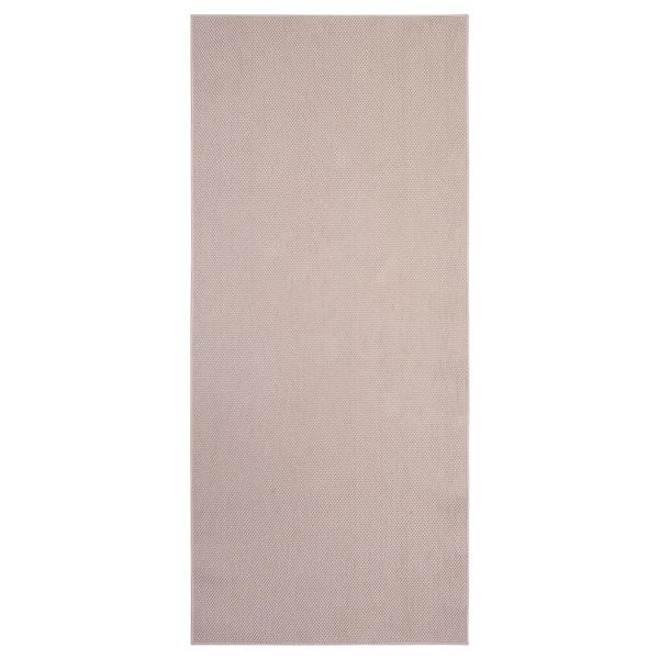 Sollinge Tapis Tisse A Plat Beige 65x150 Cm Ikea