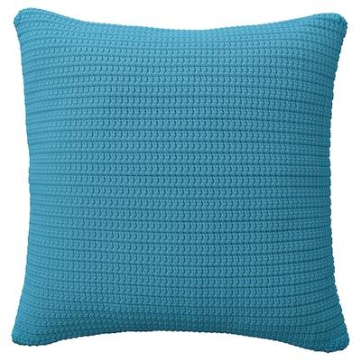SÖTHOLMEN Housse de coussin, int/ext, bleu clair, 50x50 cm