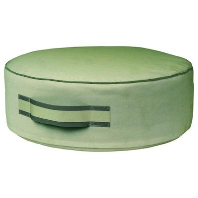 SOLBLEKT pouf vert 19 cm 55 cm