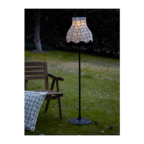 solvinden lampadaire nergie solaire led ikea. Black Bedroom Furniture Sets. Home Design Ideas