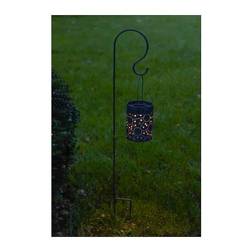 Solvinden lanterne led nergie solaire ikea - Lanterne de jardin ikea ...