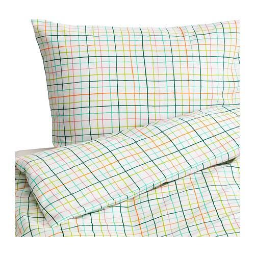 sommar 2015 housse de couette et taie 150x200 65x65 cm ikea. Black Bedroom Furniture Sets. Home Design Ideas