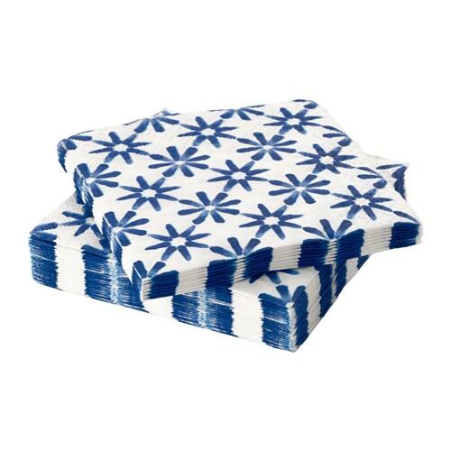 sommar 2016 serviettes en papier ikea. Black Bedroom Furniture Sets. Home Design Ideas