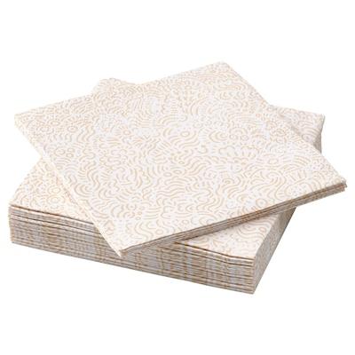 SOMMARDRÖM Serviettes en papier, 24x24 cm