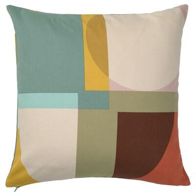 STENMÄTARE Housse de coussin, multicolore, 50x50 cm