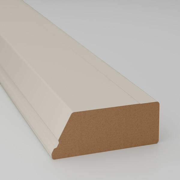 STENSUND Bandeau décor profilé, beige, 221x3 cm