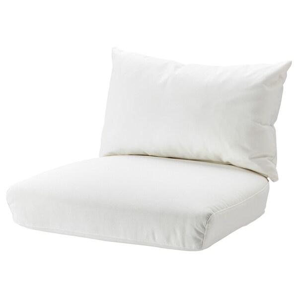 STOCKHOLM 2017 Jeu de coussin pour fauteuil, Röstånga blanc