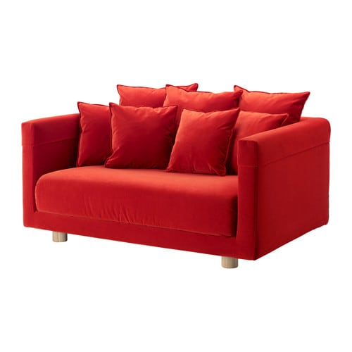 Stockholm 2017 canap 2 places sandbacka orange ikea - Canape convertible rouge ikea ...