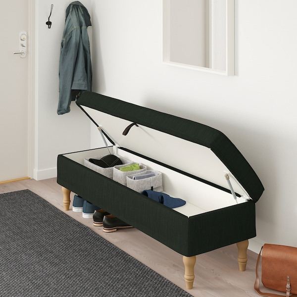 Stocksund Banquette Nolhaga Vert Fonce Achetez Aujourd Hui Ikea