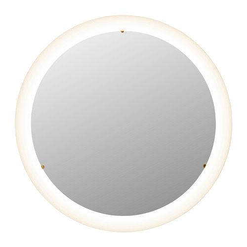 Eclairage miroir salle de bain ikea salle de bains - Installer miroir salle de bain ...