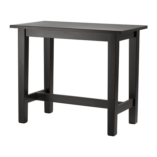 Storn s table de bar ikea for Panier de bar ikea bygel