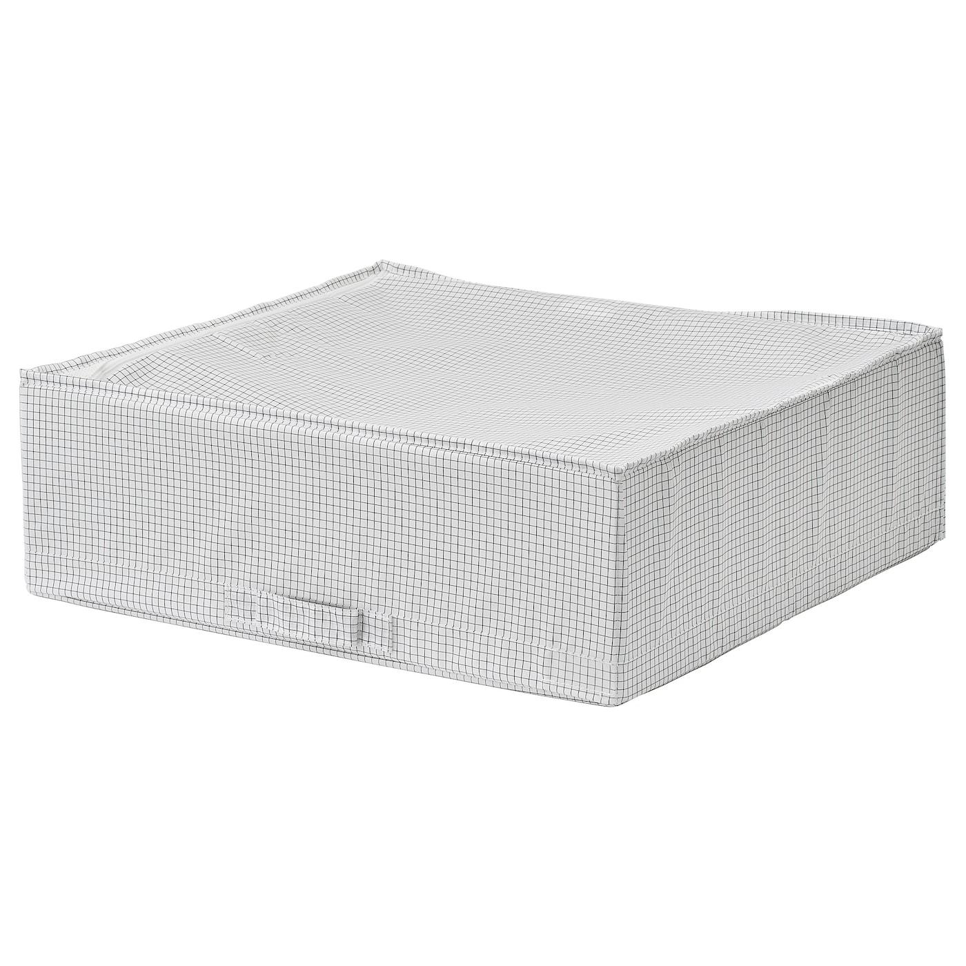 STUK Sac de rangement, blanc/gris, 55x51x18 cm - IKEA