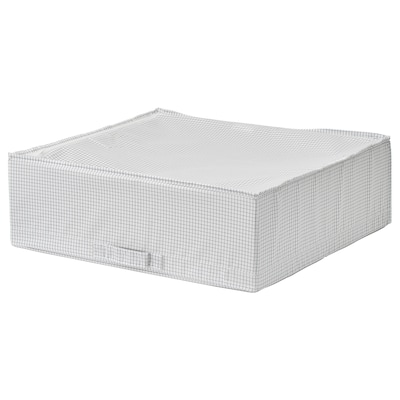 STUK Sac de rangement, blanc/gris, 55x51x18 cm