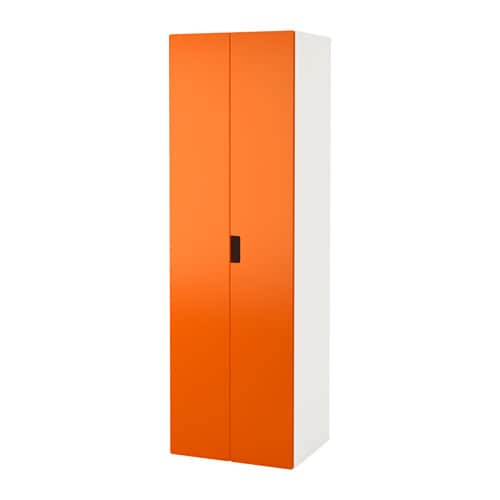 stuva armoire penderie blanc orange ikea. Black Bedroom Furniture Sets. Home Design Ideas
