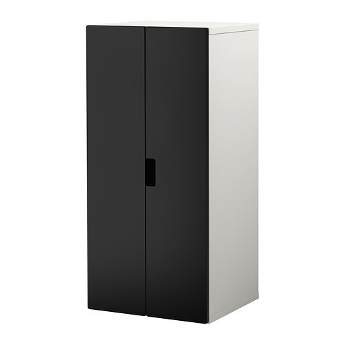 stuva combinaison rangement portes blanc noir ikea. Black Bedroom Furniture Sets. Home Design Ideas