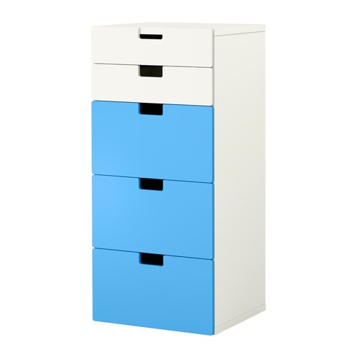 Stuva combinaison rangement tiroirs blanc bleu ikea - Ikea rangement tiroir cuisine ...