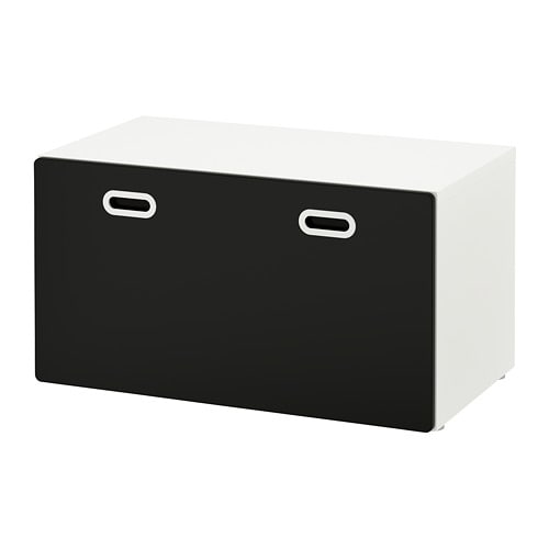 stuva fritids banc avec rangement jouets blanc surface. Black Bedroom Furniture Sets. Home Design Ideas