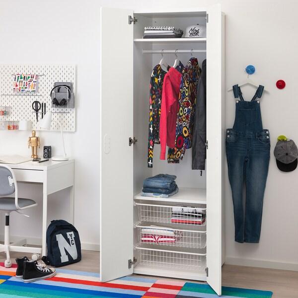 STUVA / FRITIDS armoire-penderie blanc/blanc 60 cm 50 cm 192 cm