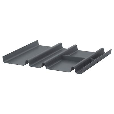 SUMMERA Accessoire tiroir à 6 compartiments, anthracite, 44x37 cm