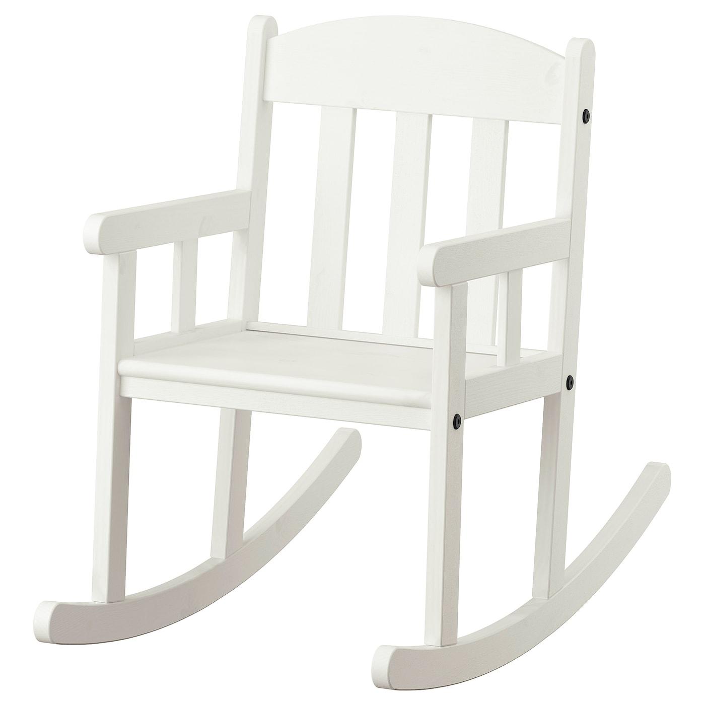 SUNDVIK Chaise à bascule enfant - blanc