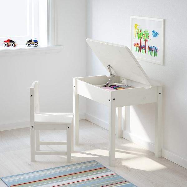 SUNDVIK Bureau enfant blanc IKEA