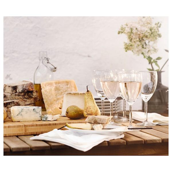 SVALKA verre à vin blanc verre transparent 18 cm 25 cl 6 pièces