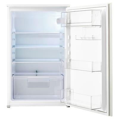 SVALNA Réfrigérateur encastrable, blanc, 142 l