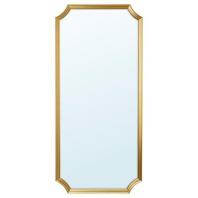 SVANSELE Miroir, couleur or, 73x158 cm