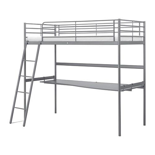 Svarta Structure Lit Mezzanine Plateau Ikea