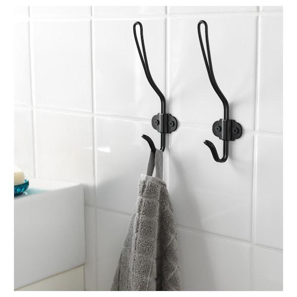 SVARTSJÖN crochet noir 6 cm 18 cm 4 kg