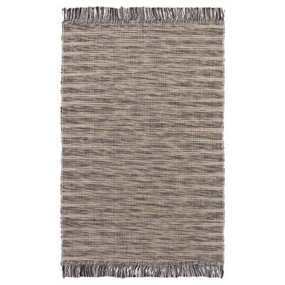 TAULOV Tapis tissé à plat, beige, 60x90 cm