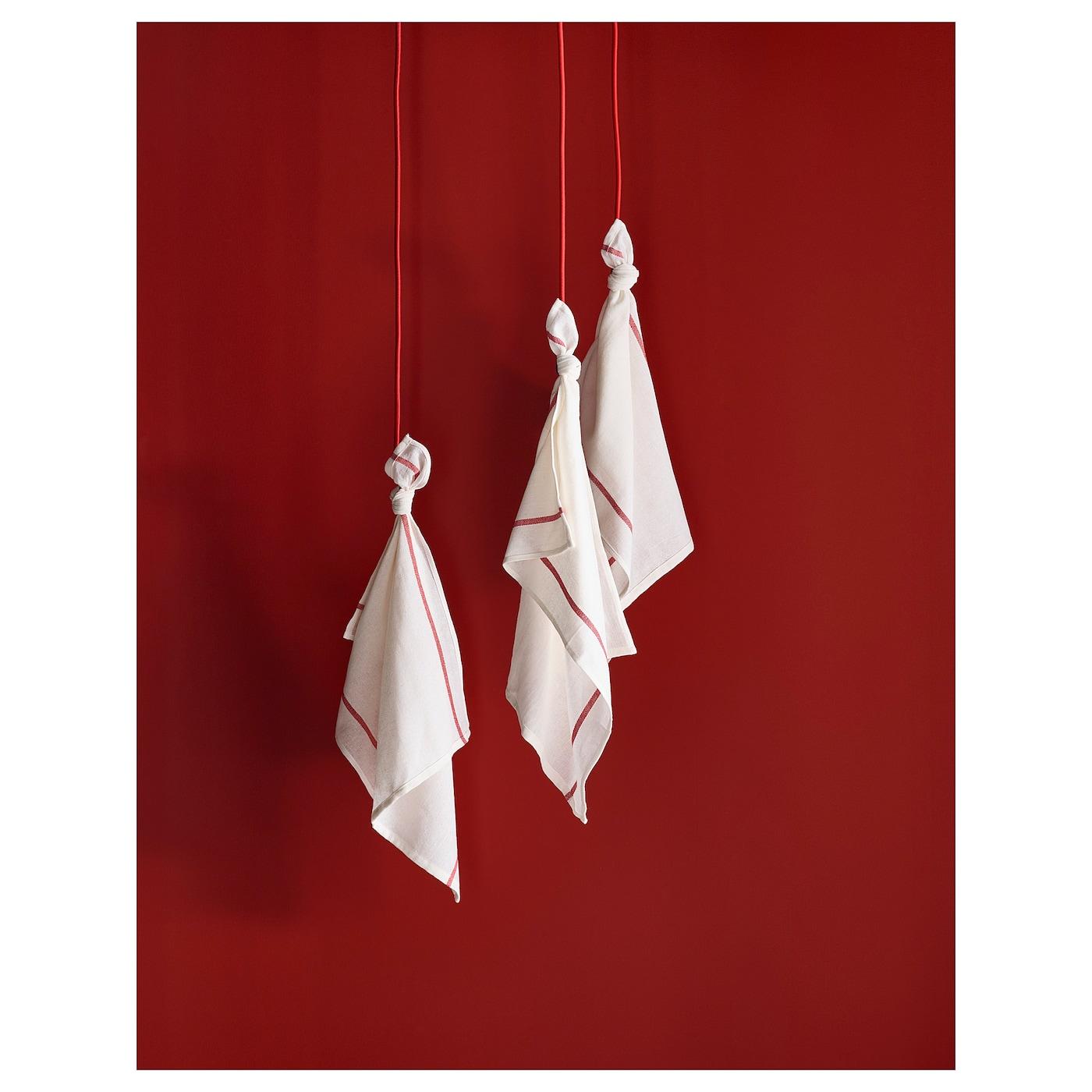 Tekla Thé Serviette fils teints coton 50x65 cm suspendu boucle Séchage tissu IKEA