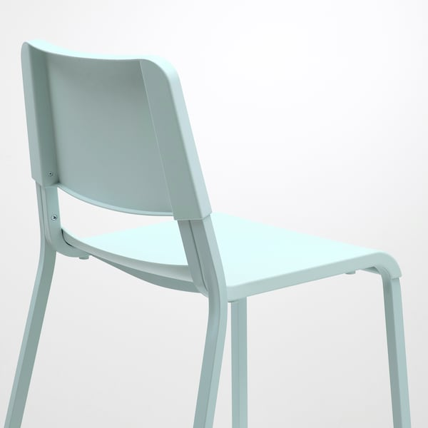 TEODORES Chaise, turquoise clair