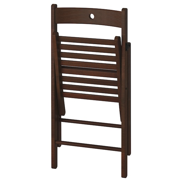 TERJE Chaise pliante, brun