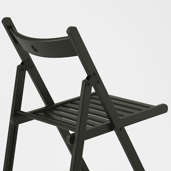TERJE Chaise pliante, noir