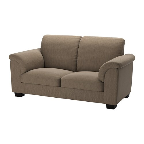 TIDAFORS Canapé 2 places - Hensta brun clair - IKEA