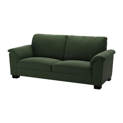 Tidafors canap 3 places hensta vert ikea for Ikea canape vert