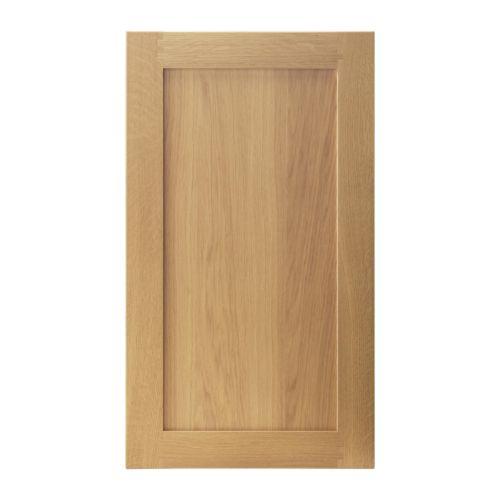 Chambre A Coucher Noir Et Rouge : TIDAHOLM Porte IKEA Cadre en chêne massif, un matériau naturel et