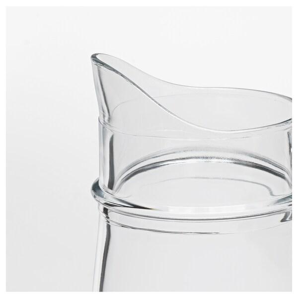 TILLBRINGARE Pichet, verre transparent, 1.7 l