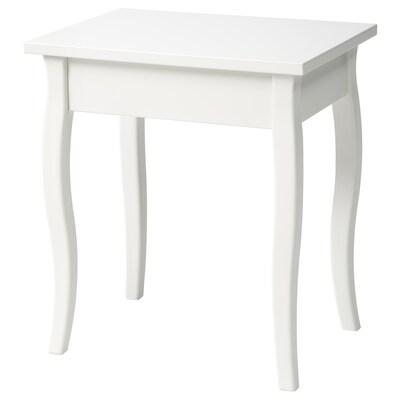 TINIUS tabouret blanc 40 cm 30 cm 45 cm