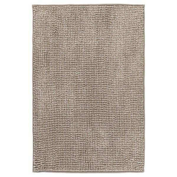 TOFTBO Tapis de bain, beige-blanc mélange, 50x80 cm
