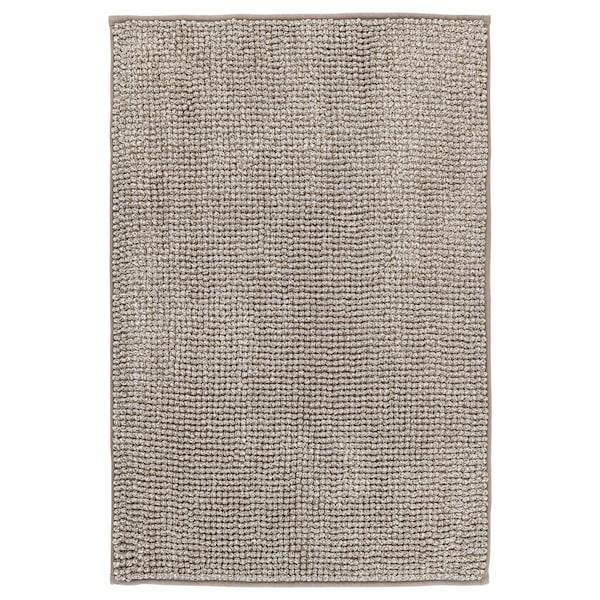 Toftbo Tapis De Bain Beige Blanc Melange Ikea