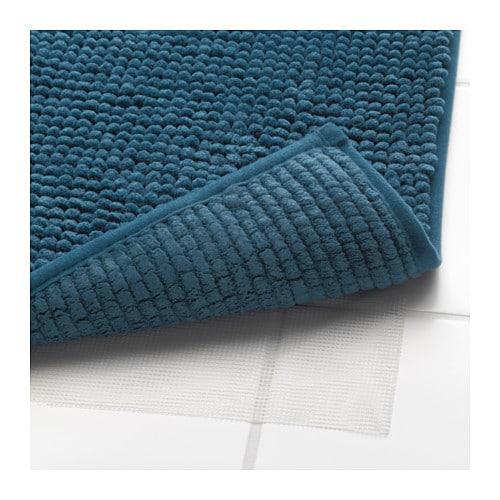 wundersch nen tapis ikea bleu l 39 id e d 39 un tapis de bain. Black Bedroom Furniture Sets. Home Design Ideas