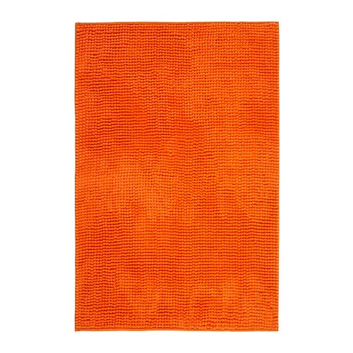 toftbo tapis de bain orange 60x90 cm ikea. Black Bedroom Furniture Sets. Home Design Ideas