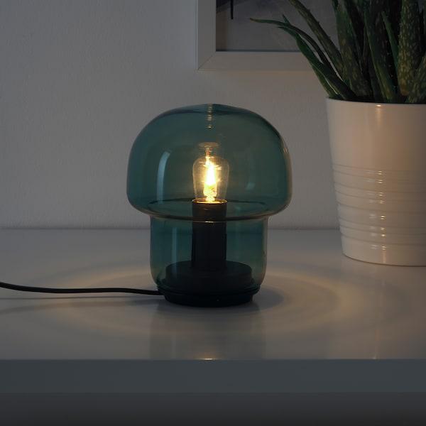 TOKABO Lampe de table, verre vert
