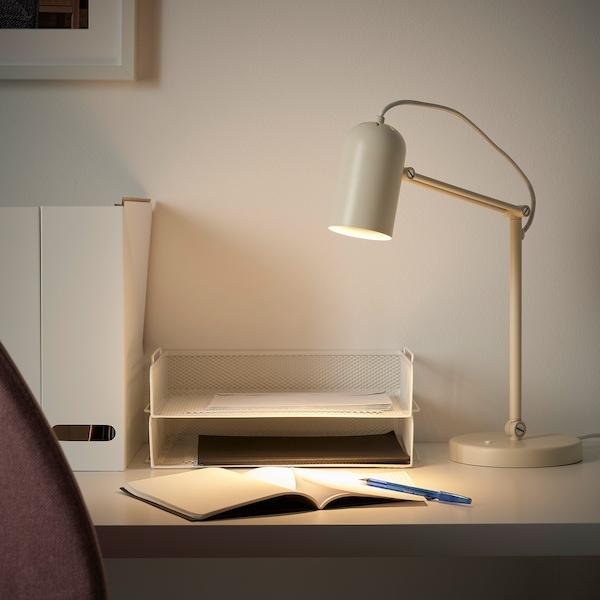 TOLFT Lampe de bureau, beige